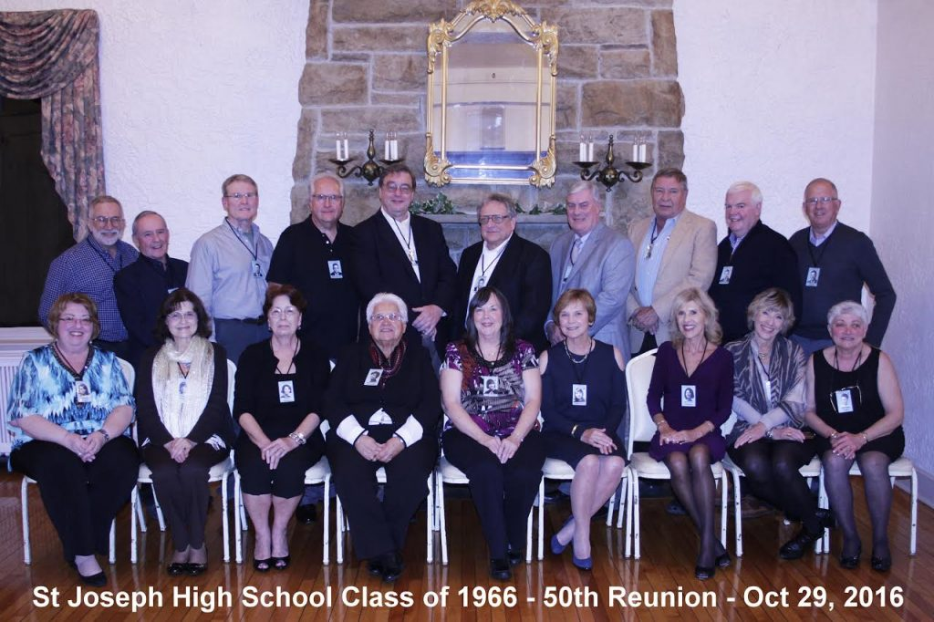 Class of 1966 Reunion The Class of 1966 held their 50th Reunion on October 26, 2016.